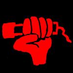 nochrichten-Logo: Fäustchen mit Mikrofon